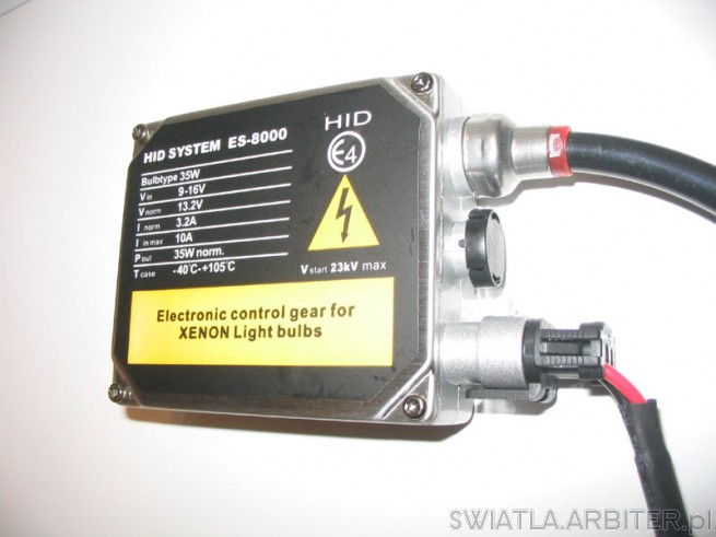 HID Sysetms ES-8000 Electronic control gear for Xenon Lighr bulbs.